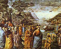 The Calling of St. Peter, ghirlandaio
