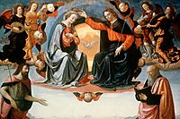The Coronation of the Virgin, ghirlandaio