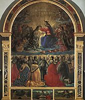 Coronation of the Virgin, 1483, ghirlandaio