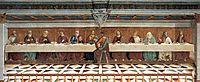 Last Supper, 1476, ghirlandaio