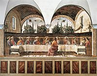 Last Supper, c.1486, ghirlandaio