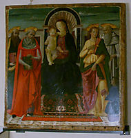 Madonna and Child, ghirlandaio