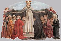 Madonna of Mercy, c.1472, ghirlandaio