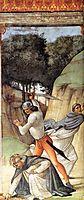 Martyrdom of St. Peter Martyr, ghirlandaio