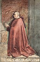 Portrait of Francesco Sassetti, 1483, ghirlandaio