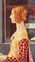 Portrait of Giovanna Tornabuoni, 1490, ghirlandaio