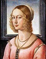 Portrait of Giovanna Tornabuoni, c.1488, ghirlandaio