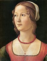 Portrait of a Young Woman, ghirlandaio