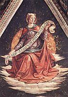 A Sibyl, 1486, ghirlandaio