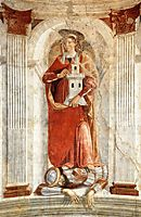 St. Barbara, c.1471, ghirlandaio