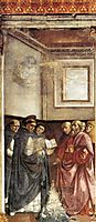 St. Dominic Burning Heretical Writings, 1490, ghirlandaio