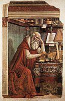 St. Jerome, 1480, ghirlandaio