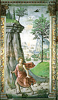 St. John the Baptist in the Desert, 1490, ghirlandaio