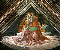 St. John the Evangelist, 1490, ghirlandaio