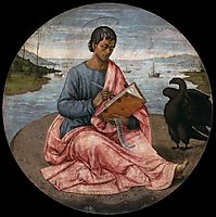 St. John the Evangelist on the Island of Patmos, 1485, ghirlandaio