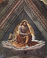 St. Luke, 1490, ghirlandaio