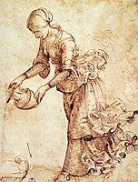 Study, c.1486, ghirlandaio