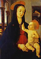 The Virgin and Child, ghirlandaio