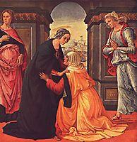 The Visitation, 1491, ghirlandaio