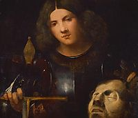 David with the Head of Goliath, 1510, giorgione