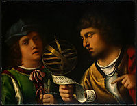 Giovanni Borgherini and His Tutor, giorgione