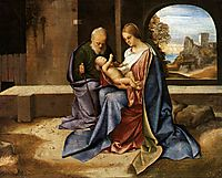 The Holy Family (Madonna Benson), 1500, giorgione