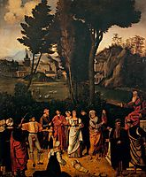 The Judgement of Solomon, 1505, giorgione