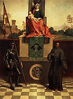 Madonna and Child with Saints Liberale and Francis (The Castelfranco Madonna), 1505, giorgione