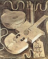 Musical instruments (music), 1510, giorgione
