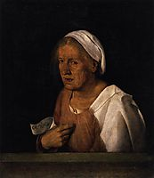The Old Woman, 1505, giorgione