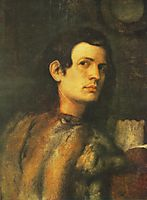 Portrait of young man, giorgione