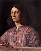 Portrait of young man (Giustiniani Portrait) , 1504, giorgione