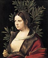 Portrait of a Young Woman (Laura), 1506, giorgione