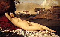 The Sleeping Venus, 1510, giorgione