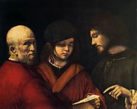 The Three Ages of Man, 1501, giorgione