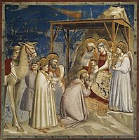 Adoration of the Magi, c.1306, giotto
