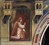 Annunciation: The Angel Gabriel Sent by God, 1306, giotto