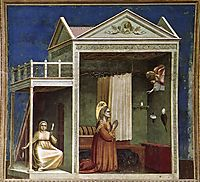 Annunciation to St Anne, c.1306, giotto