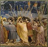 The Arrest of Christ (Kiss of Judas), c.1306, giotto