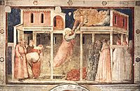 Ascension of the Evangelist, 1320, giotto