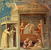 The Birth of the Virgin, giotto