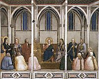 Christ Among the Doctors, c.1320, giotto