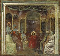 Christ among the Doctors, c.1306, giotto