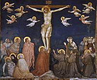 The Crucifixion, c.1320, giotto