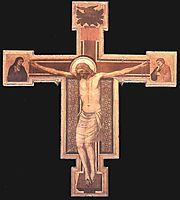 The Crucifixion, c.1330, giotto