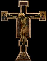 The Crucifixion, c.1300, giotto
