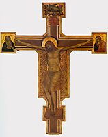 Crucifixion, c.1315, giotto