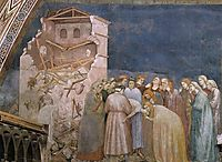 The Death of the Boy in Sessa, c.1320, giotto