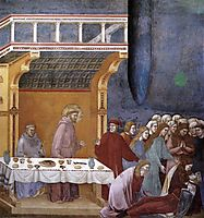 The Death of the Knight of Celano, 1300, giotto