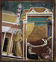 The Dream of Innocent III, giotto